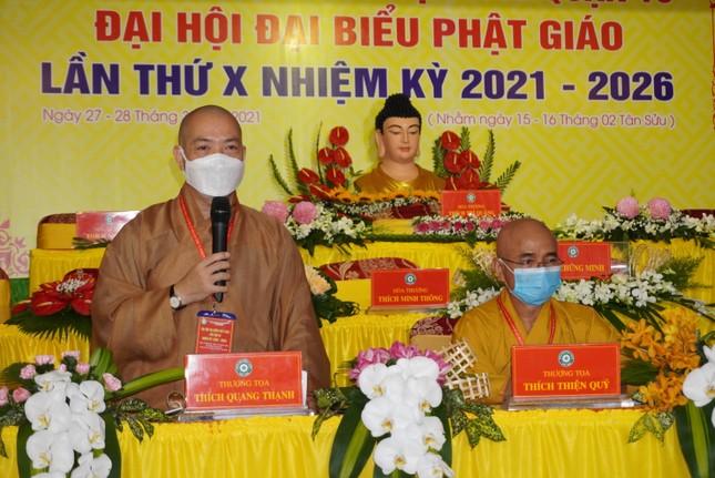 Phiên trù bị đại hội Phật giáo quận 10 nhiệm kỳ 2021-2026 ảnh 7