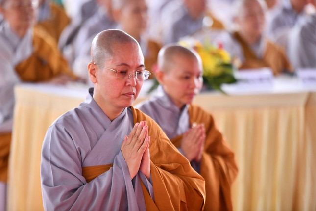 Lễ động thổ xây dựng Ni xá tu viện Long Hưng (quận Bình Tân) ảnh 5