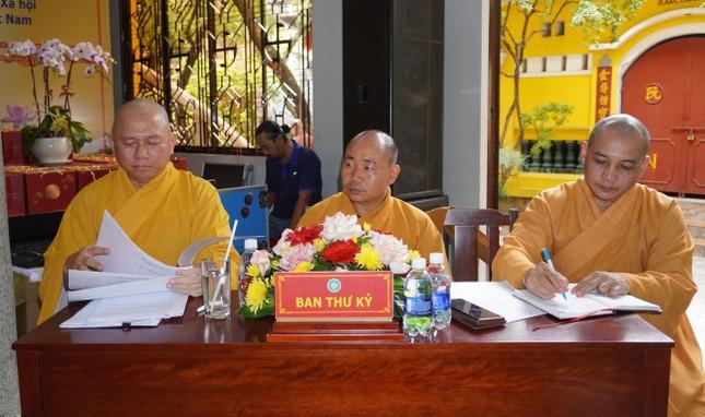 Phật giáo quận Gò Vấp sẵn sàng cho đại hội chính thức vào sáng mai, 7-4 ảnh 7