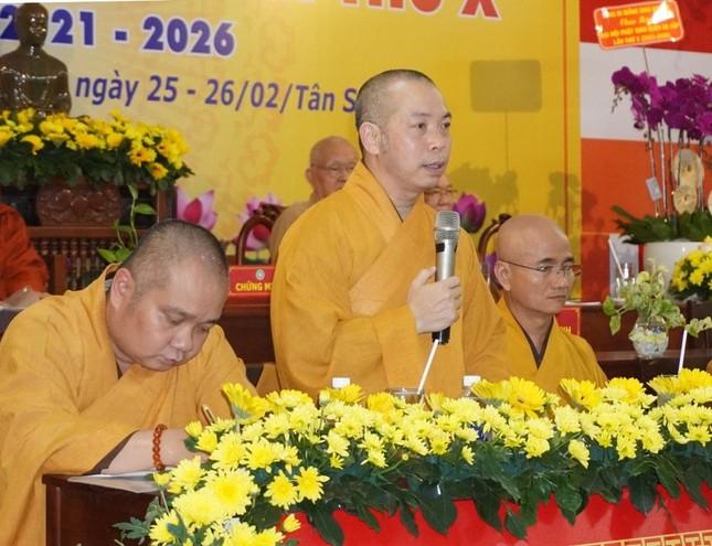Phật giáo quận Gò Vấp sẵn sàng cho đại hội chính thức vào sáng mai, 7-4 ảnh 5
