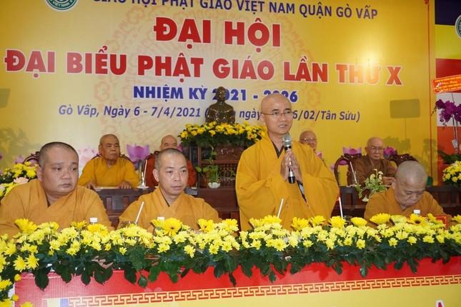Phật giáo quận Gò Vấp sẵn sàng cho đại hội chính thức vào sáng mai, 7-4 ảnh 4