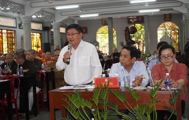 Phật giáo quận Gò Vấp sẵn sàng cho đại hội chính thức vào sáng mai, 7-4 ảnh 11