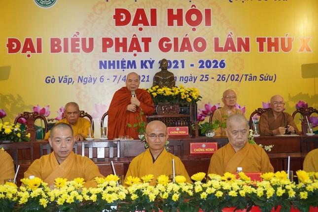 Phật giáo quận Gò Vấp sẵn sàng cho đại hội chính thức vào sáng mai, 7-4 ảnh 2