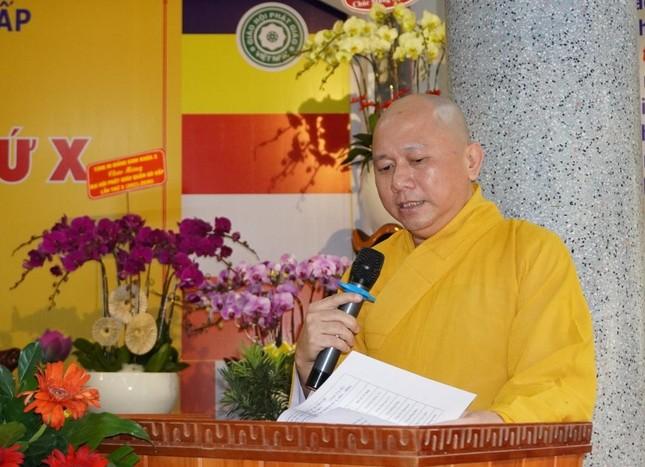 Phật giáo quận Gò Vấp sẵn sàng cho đại hội chính thức vào sáng mai, 7-4 ảnh 3