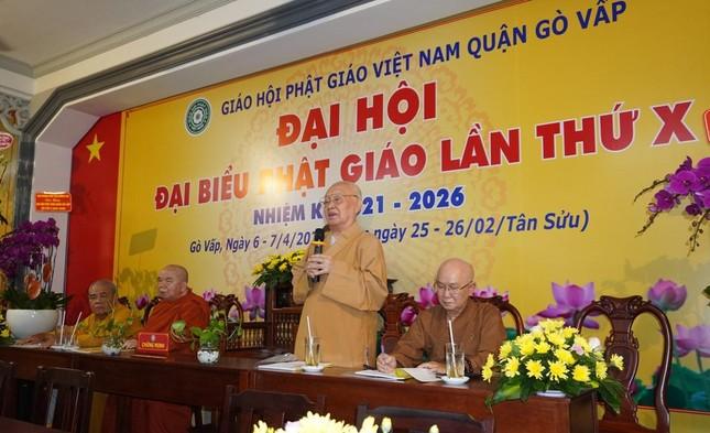 Phật giáo quận Gò Vấp sẵn sàng cho đại hội chính thức vào sáng mai, 7-4 ảnh 6