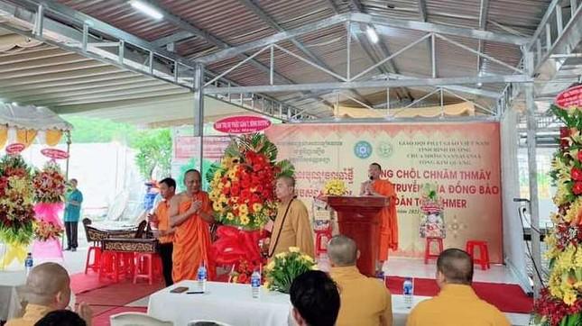 Họp mặt trước thềm Tết cổ truyền đồng bào Khmer tại chùa Tông Kim Quang ảnh 2