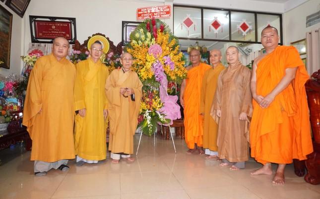 Trung ương Giáo hội chúc Tết Chôl Chnăm Thmây tại chùa Candaransi ảnh 4