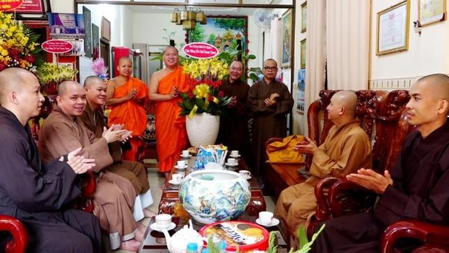 Trung ương Giáo hội chúc Tết Chôl Chnăm Thmây tại chùa Candaransi ảnh 5