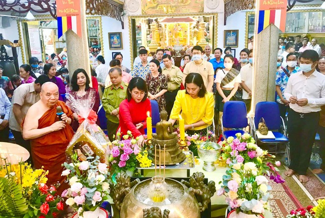 Lễ hội Tết cổ truyền các nước Đông Nam Á tại chùa Phổ Minh ảnh 1