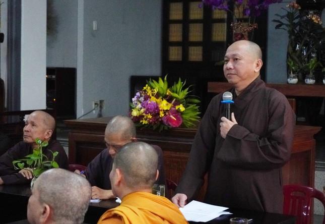 Ban Trị sự Phật giáo Gò Vấp triển khai Phật sự lần đầu tiên sau khi ra mắt ảnh 2