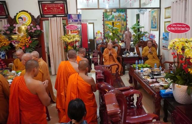 Trung ương Giáo hội chúc Tết Chôl Chnăm Thmây tại chùa Candaransi ảnh 3