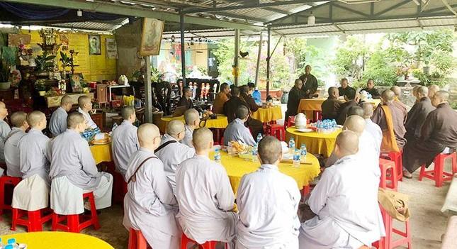 Ban Trị sự Phật giáo huyện Củ Chi tập huấn hành chánh điện tử ảnh 1