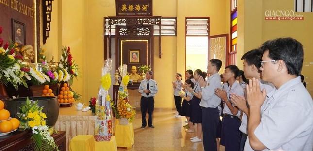 Tưởng niệm cư sĩ Chánh Trí Mai Thọ Truyền tại chùa Xá Lợi ảnh 5