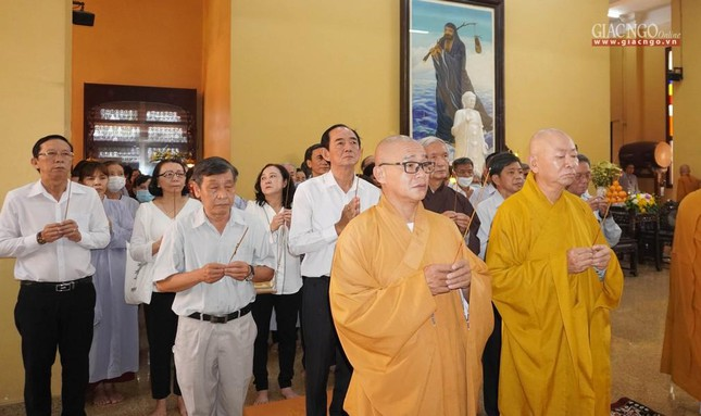 Tưởng niệm cư sĩ Chánh Trí Mai Thọ Truyền tại chùa Xá Lợi ảnh 1