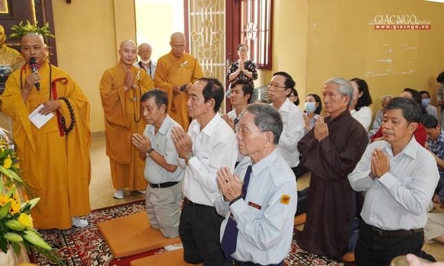 Tưởng niệm cư sĩ Chánh Trí Mai Thọ Truyền tại chùa Xá Lợi ảnh 2