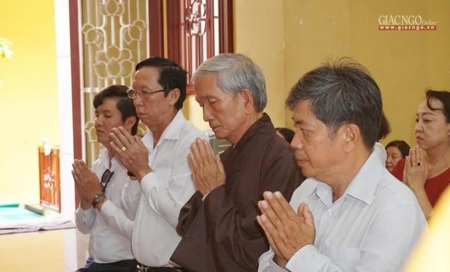 Tưởng niệm cư sĩ Chánh Trí Mai Thọ Truyền tại chùa Xá Lợi ảnh 3