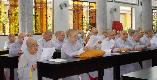 Phật giáo quận Gò Vấp triển khai kế hoạch Đại lễ Phật đản và An cư kiết hạ PL.2565 ảnh 6