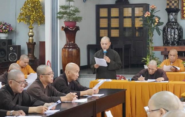 Phật giáo quận Gò Vấp triển khai kế hoạch Đại lễ Phật đản và An cư kiết hạ PL.2565 ảnh 5