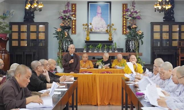 Phật giáo quận Gò Vấp triển khai kế hoạch Đại lễ Phật đản và An cư kiết hạ PL.2565 ảnh 1