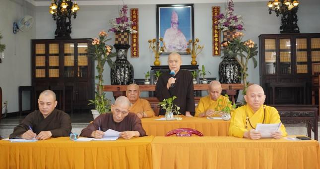 Phật giáo quận Gò Vấp triển khai kế hoạch Đại lễ Phật đản và An cư kiết hạ PL.2565 ảnh 3