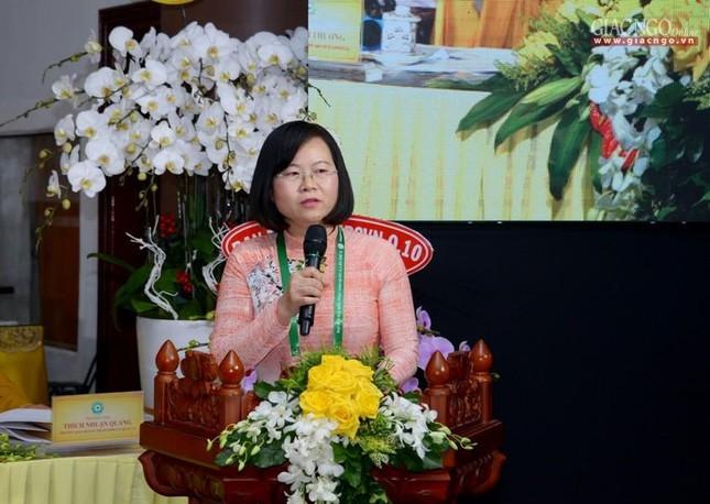 Thượng tọa Thích Trí Thường được suy cử tân Trưởng ban Trị sự GHPGVN quận 12 nhiệm kỳ 2021-2026 ảnh 9