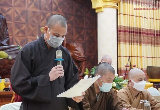 Phật giáo quận 3 trao quyết định chuẩn y nhân sự và triển khai kế hoạch Phật đản, An cư kiết hạ ảnh 6