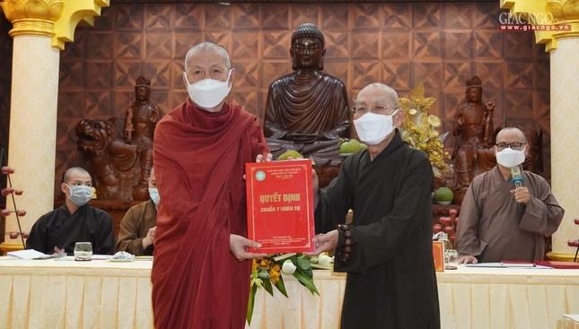 Phật giáo quận 3 trao quyết định chuẩn y nhân sự và triển khai kế hoạch Phật đản, An cư kiết hạ ảnh 2