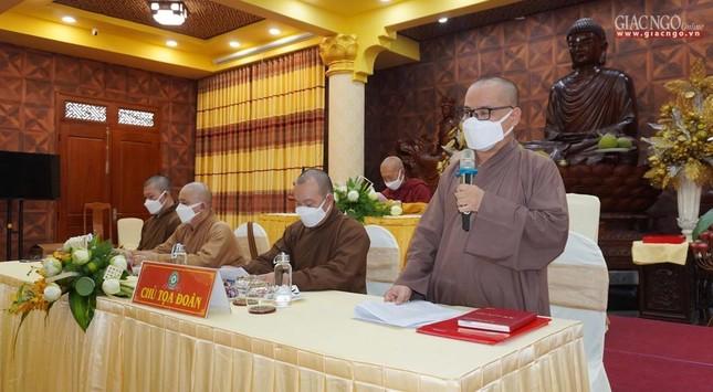 Phật giáo quận 3 trao quyết định chuẩn y nhân sự và triển khai kế hoạch Phật đản, An cư kiết hạ ảnh 4