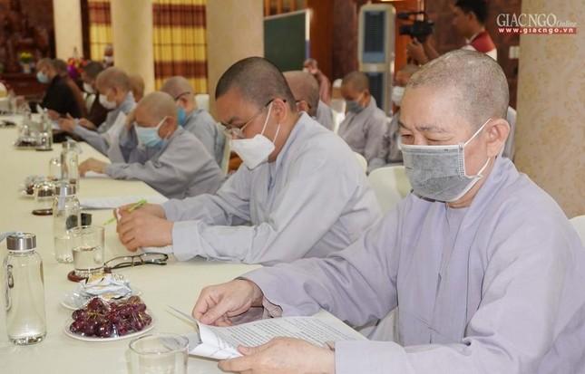 Phật giáo quận 3 trao quyết định chuẩn y nhân sự và triển khai kế hoạch Phật đản, An cư kiết hạ ảnh 7