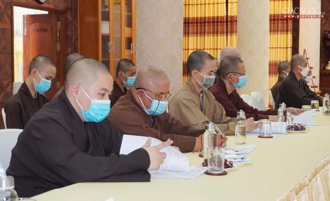 Phật giáo quận 3 trao quyết định chuẩn y nhân sự và triển khai kế hoạch Phật đản, An cư kiết hạ ảnh 5