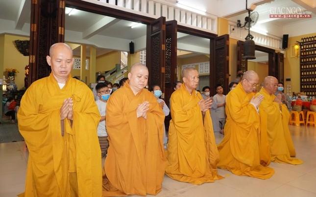 Tưởng niệm 25 năm ngày Thượng tọa Thích Minh Phát viên tịch tại tổ đình Ấn Quang ảnh 12
