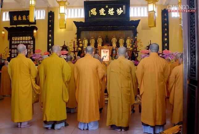 Tưởng niệm 25 năm ngày Thượng tọa Thích Minh Phát viên tịch tại tổ đình Ấn Quang ảnh 6
