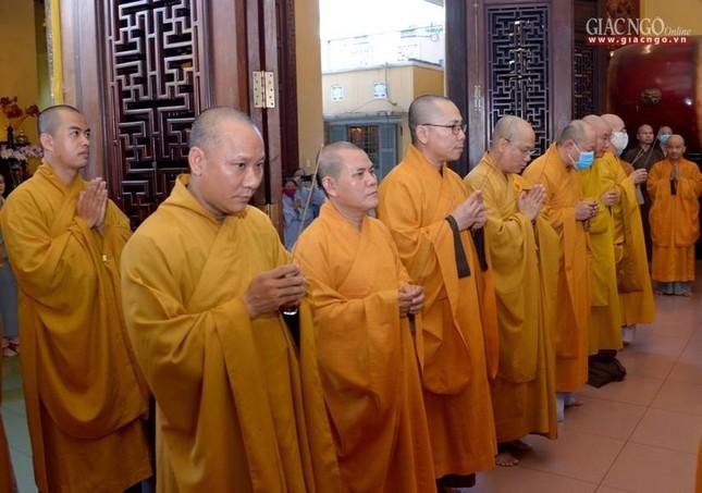 Tưởng niệm 25 năm ngày Thượng tọa Thích Minh Phát viên tịch tại tổ đình Ấn Quang ảnh 10