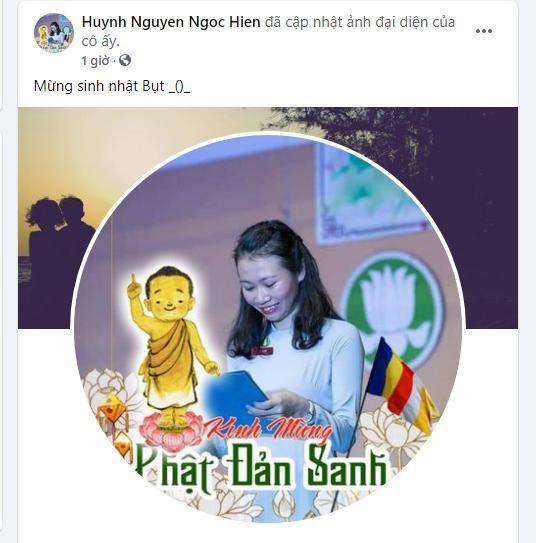 Bạn trẻ thay đổi hình đại diện trên facebook Kính mừng Phật đản Phật lịch 2565 ảnh 2
