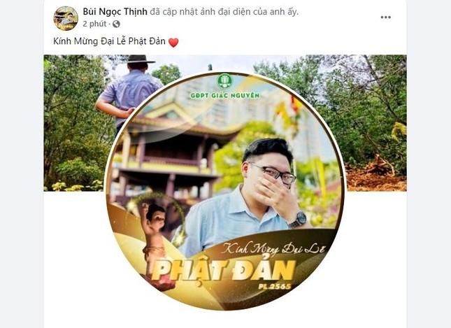 Bạn trẻ thay đổi hình đại diện trên facebook Kính mừng Phật đản Phật lịch 2565 ảnh 3