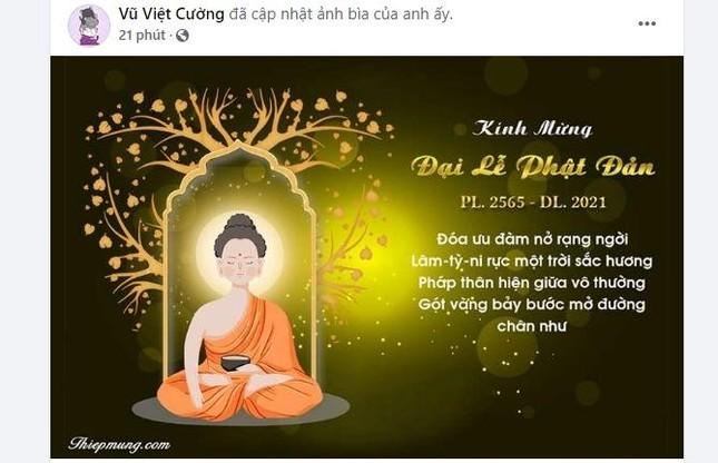 Bạn trẻ thay đổi hình đại diện trên facebook Kính mừng Phật đản Phật lịch 2565 ảnh 10