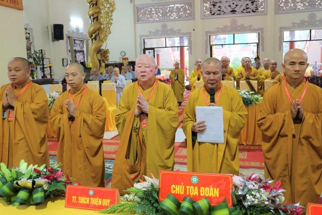 Phiên trù bị Đại hội đại biểu Phật giáo quận 11 nhiệm kỳ 2021-2026 ảnh 1