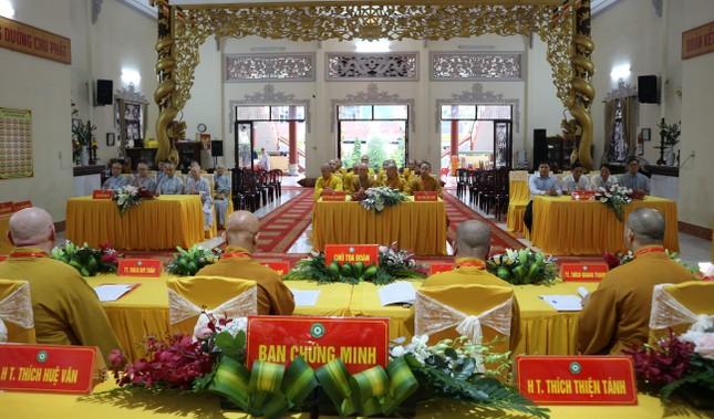 Phiên trù bị Đại hội đại biểu Phật giáo quận 11 nhiệm kỳ 2021-2026 ảnh 3