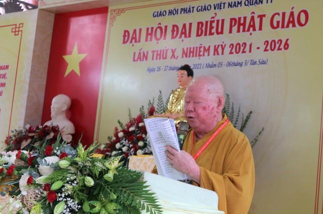 Phiên trù bị Đại hội đại biểu Phật giáo quận 11 nhiệm kỳ 2021-2026 ảnh 2