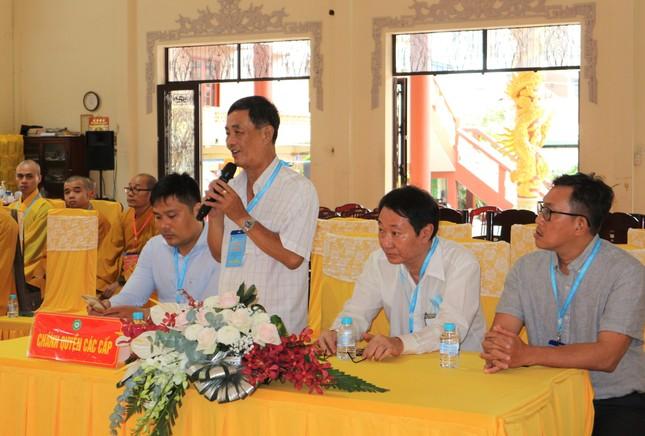 Phiên trù bị Đại hội đại biểu Phật giáo quận 11 nhiệm kỳ 2021-2026 ảnh 7