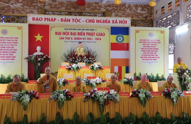 Phiên trù bị Đại hội đại biểu Phật giáo quận 11 nhiệm kỳ 2021-2026 ảnh 4