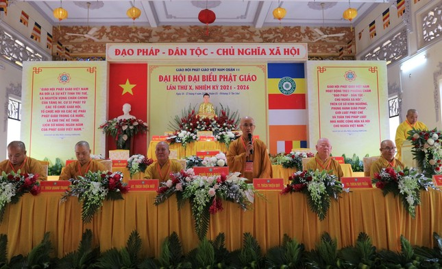 Phiên trù bị Đại hội đại biểu Phật giáo quận 11 nhiệm kỳ 2021-2026 ảnh 5