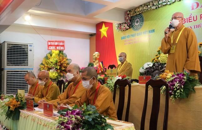 Phiên trù bị Đại hội đại biểu Phật giáo quận 5 nhiệm kỳ 2021-2026 ảnh 2