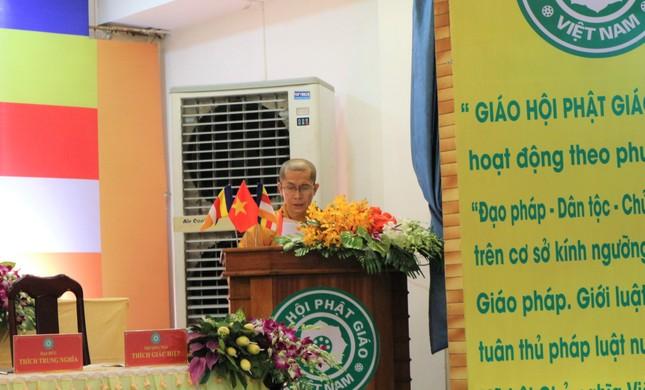 Phiên trù bị Đại hội đại biểu Phật giáo quận 5 nhiệm kỳ 2021-2026 ảnh 1