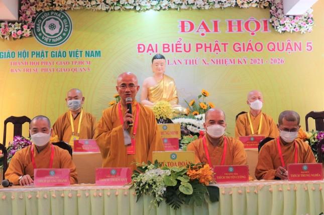 Phiên trù bị Đại hội đại biểu Phật giáo quận 5 nhiệm kỳ 2021-2026 ảnh 5