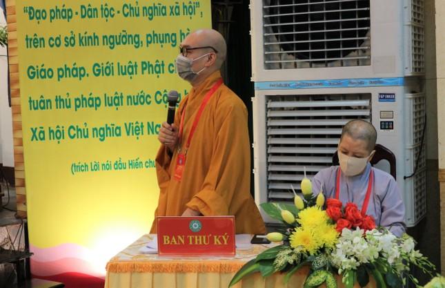 Phiên trù bị Đại hội đại biểu Phật giáo quận 5 nhiệm kỳ 2021-2026 ảnh 3