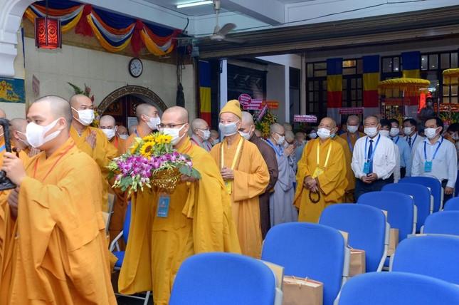 Thượng tọa Thích Truyền Cường được tái suy cử Trưởng ban Trị sự Phật giáo quận 5 ảnh 10