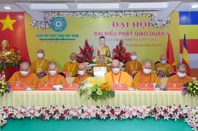 Thượng tọa Thích Truyền Cường được tái suy cử Trưởng ban Trị sự Phật giáo quận 5 ảnh 1
