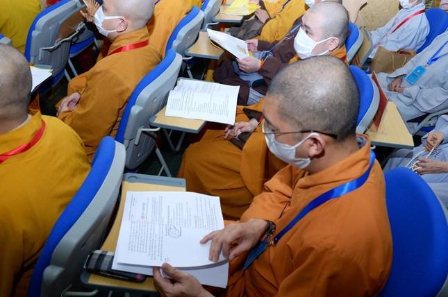 Thượng tọa Thích Truyền Cường được tái suy cử Trưởng ban Trị sự Phật giáo quận 5 ảnh 11