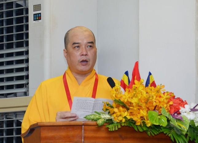 Thượng tọa Thích Truyền Cường được tái suy cử Trưởng ban Trị sự Phật giáo quận 5 ảnh 2